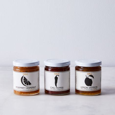 Small Batch Savory Jam (Set of 3)