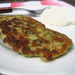 Zucchini and Feta Fritters