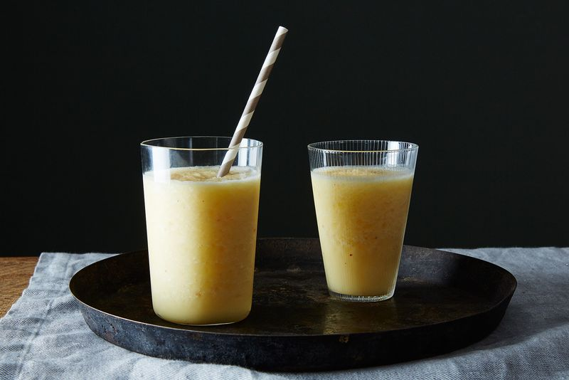 Orange-ginger-coconut smoothie? Yes please!