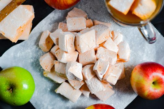 Spiced Cider Marshmallows