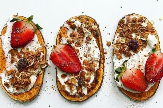 Barley+ Sweet Potato Toast