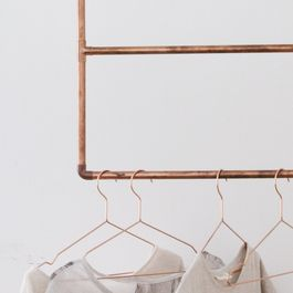 How to Build a Copper Clothing Rack at Home