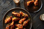 Party Wings with Cholula Butter