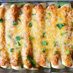 Beef Enchiladas with a Homemade Enchilada Sauce