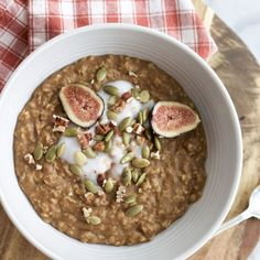 Toasted Pecan and Pumpkin Porridge