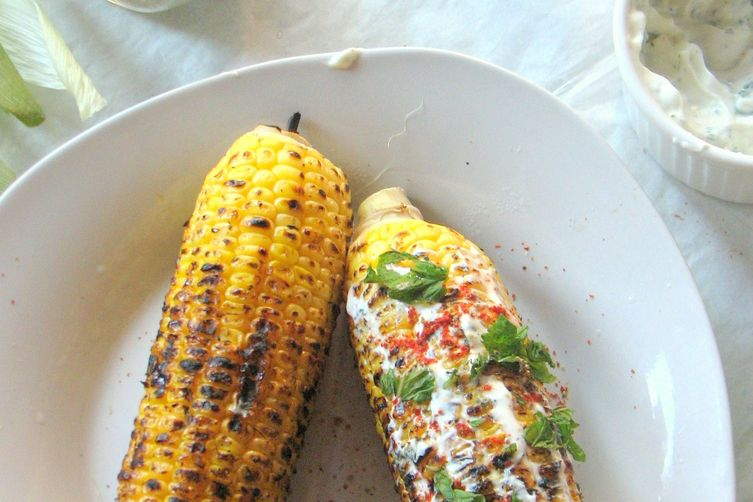Corn on the Cob - Mexican Style