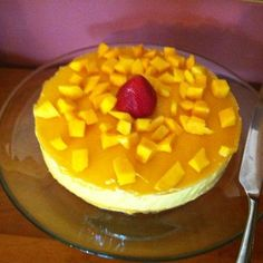 Mango Mousse Cake Delight