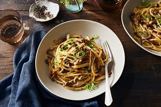 Miso-Mushroom Pasta
