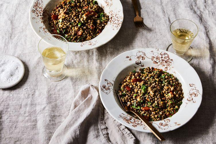 Romantic French Lentil Salad