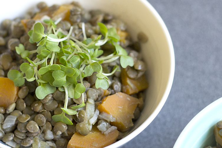 French Style Puy Lentils
