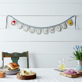 Barbecue Felt Banners