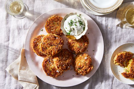 Spicy Squash Fritters