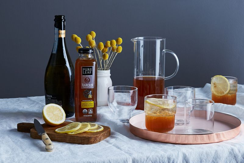 Floral, fruity, iced tea-y—and a little bubbly to boot. What's not to love?