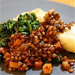 Barbecue Lentils