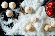 A Creamy, Coconutty, Strawberry-Filled Brazilian Truffle (+ a New Contest Winner!)