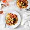 Pasta With Creamy Cherry Tomato Sauce