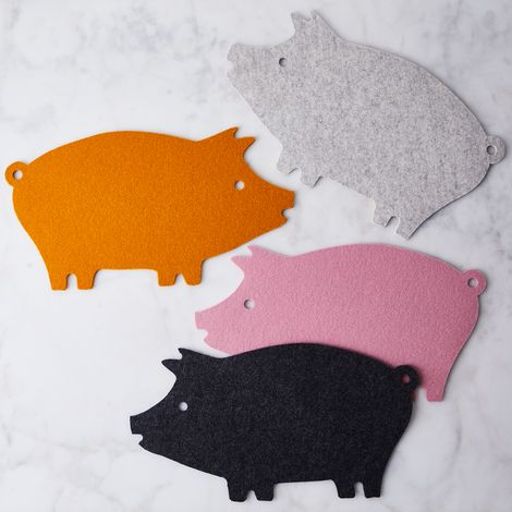 Felt Pig Trivet
