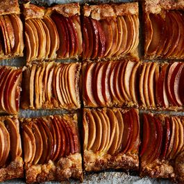 Apple pies, tarts, galettes, etc by Elaine Sokoloff