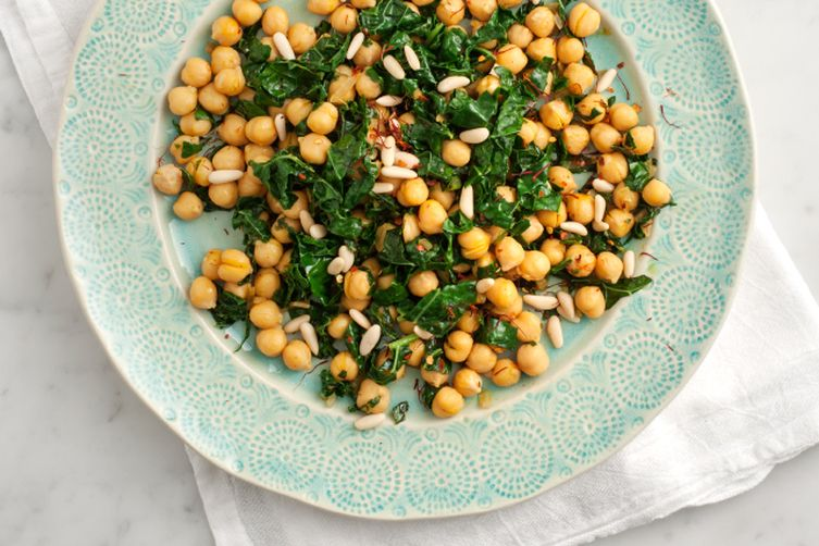 Spanish Chickpeas with Kale