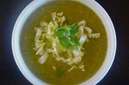 Green Chile, Chicken, Posole Soup