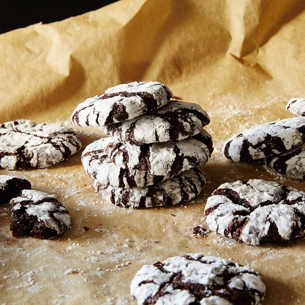 Holiday Crinkle Cookies Recipe On Food52
