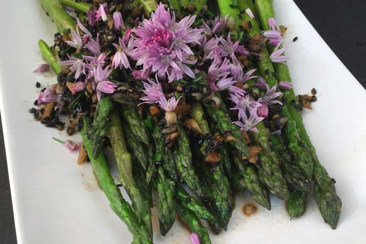 Chive Blossom Asparagus