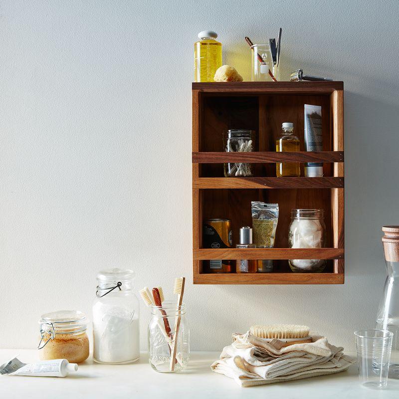 Rethink a spice rack as a bath caddy!