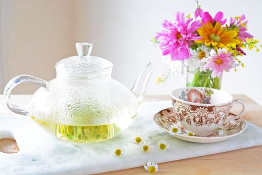 Fresh Flower Chamomile Tea