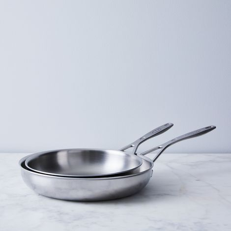 Demeyere Industry 5-Ply Stainless Fry Pan