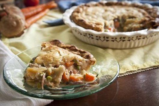 Sweet Onion Chicken Pot Pie
