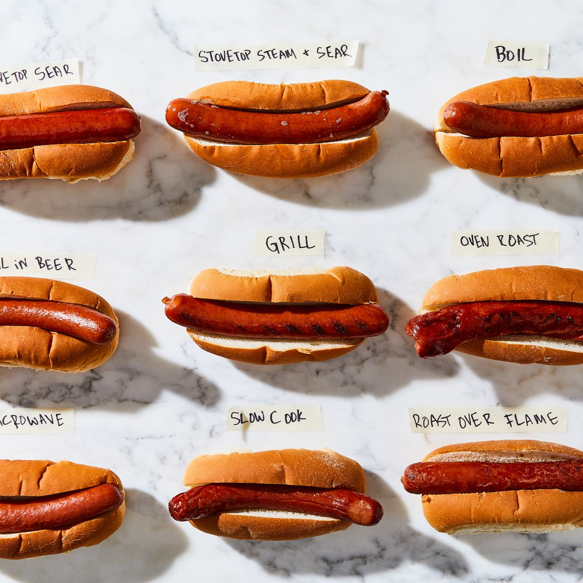 How to Cook Hot Dogs from Microwaved to Grilled to Slow-Cooked