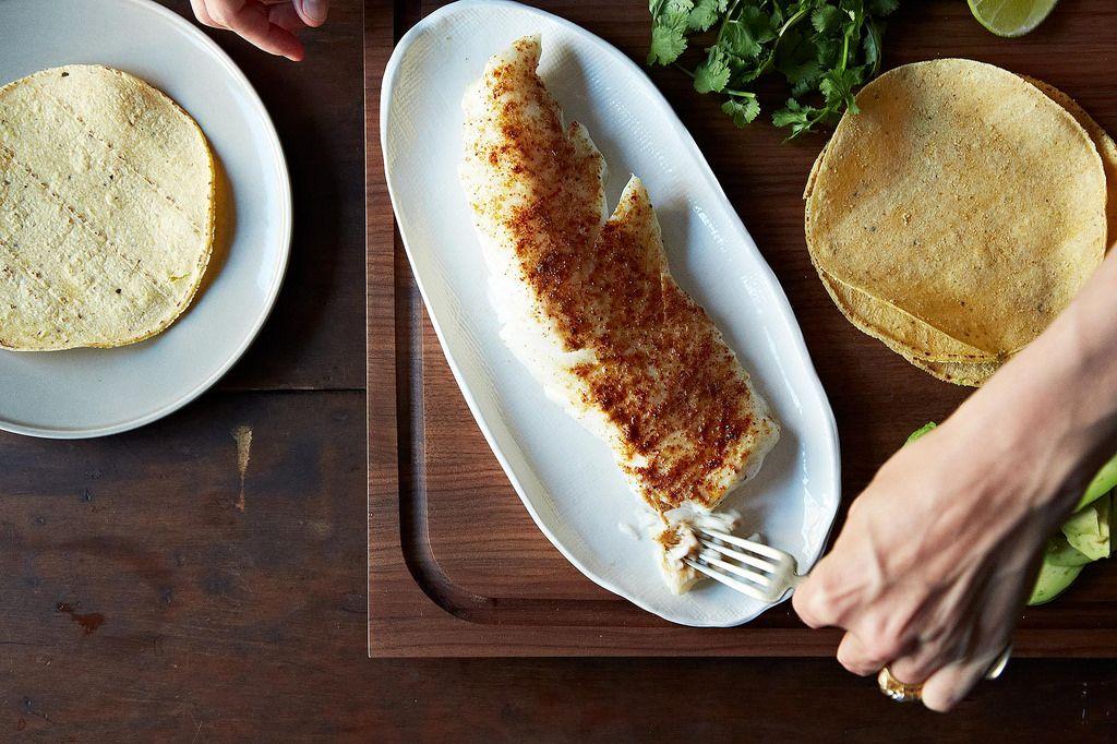 Roasted Fish Tacos
