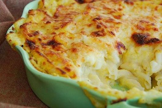 Orange Cauliflower Mac n' Cheese