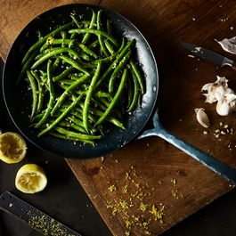 Sautéed Green Beans with Garlic