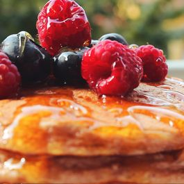 Healthy Protein Pancakes with Banana