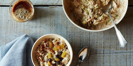 Muesli, chia seed pudding, overnight oats, wheee!