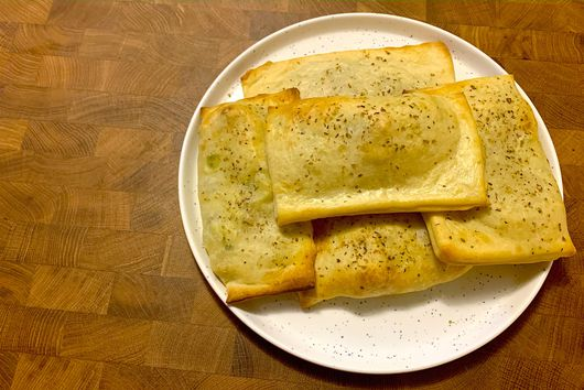 Country Sausage Egg and Cheese Turnovers