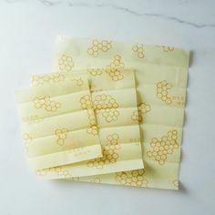 Bee's Wrap Honeycomb Print