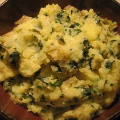Colcannon Mashed Potatoes with Dubliner Cheese
