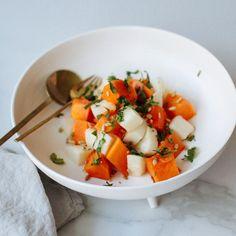 Papaya, Jicama, Cucumber Salad