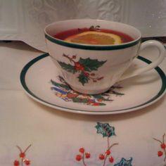 Lazy Cranberry Orange Tea Toddy