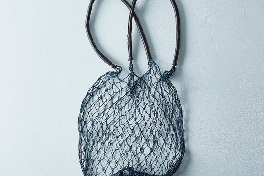 Navy Net Bag
