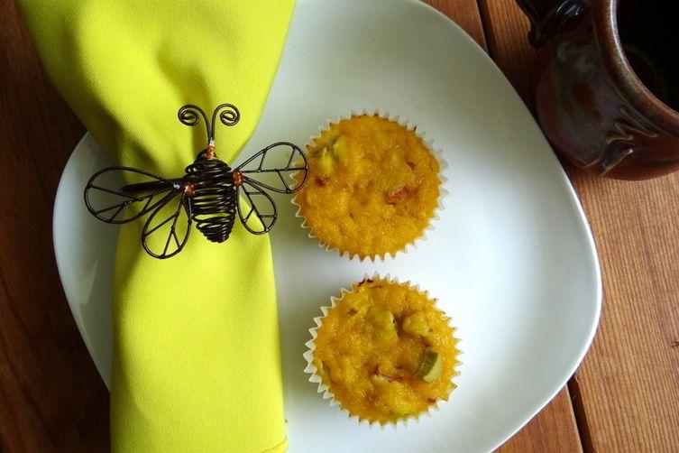 Grain-Free Rhubarb Lemon Lovin' Muffins
