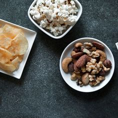 A Trio of Snack Crackers: Chipolte Cheddar, Gorgonzola Walnut, Goat Fig and Olive