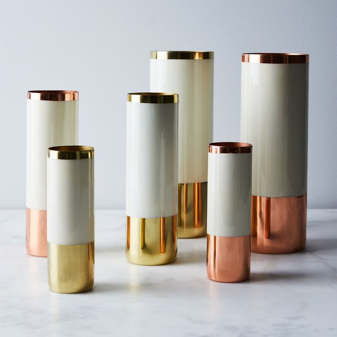 Old Copper Brass And Enamel Louise Vases On Food52