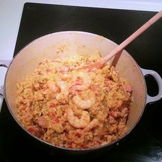 JOHN AND SARAH'S BEST SAUSAGE, SHRIMP, HAM AND CHICKEN JAMBALAYA