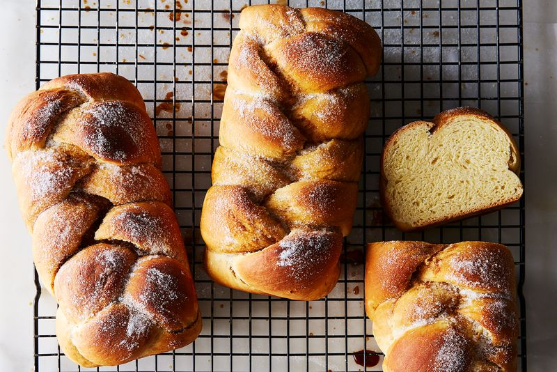 Finnish Cardamom-Coffee Bread (Nisu)