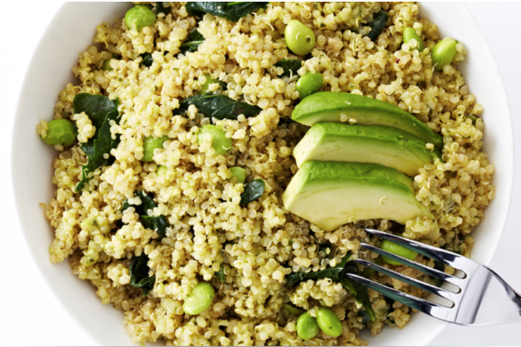 Avocado & Kale Quinoa Salad