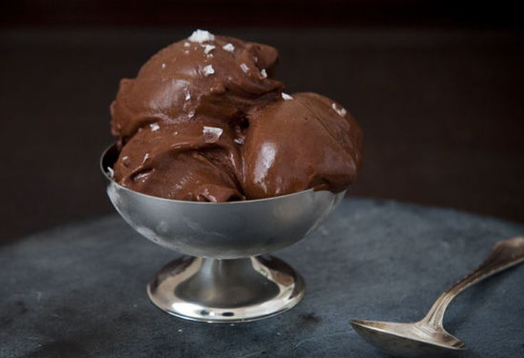 David Lebovitz's Chocolate Sorbet