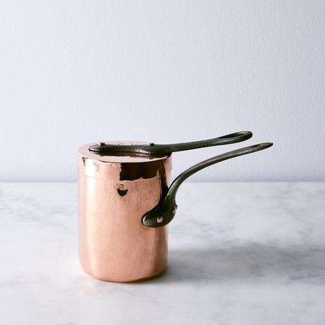 Vintage Copper French Bain Marie, Late 19th Century